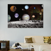Fathead The Solar System Wall Graphic