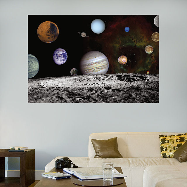 Fathead The Solar System Wall Graphic - Wall Sticker Outlet