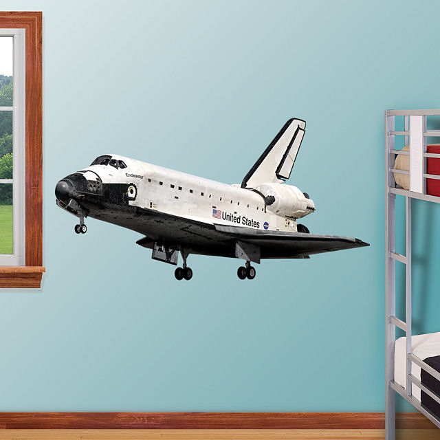 Space Shuttle Wall Sticker (page 3) - Pics about space