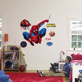 Fathead Spiderman Hero Peel Stick Wall Graphic