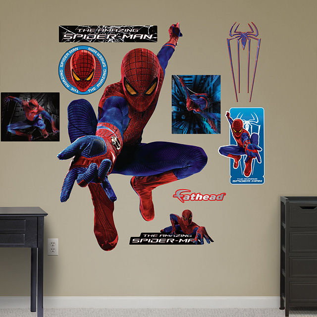 gallery for gt spiderman wall decal