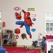 Fathead Spiderman Webslinger Wall Graphic