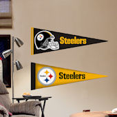 Fathead Jr. Pittsburgh Steelers Pennants