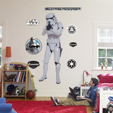 Fathead Stormtrooper Wall Sticker - Wall Sticker Outlet