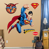 Superman Fist Fathead Wall Sticker