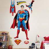 Superman Justice League Fathead Wall Sticker
