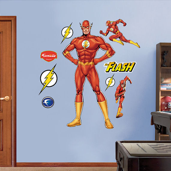 The Flash Fathead Wall Sticker - Wall Sticker Outlet