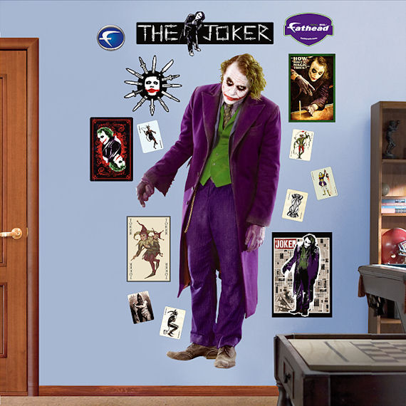 ... the joker dark knight fathead wall sticker ...