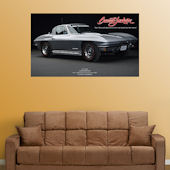 Fathead The Last Corvette Sting Ray  Wall Graphic
