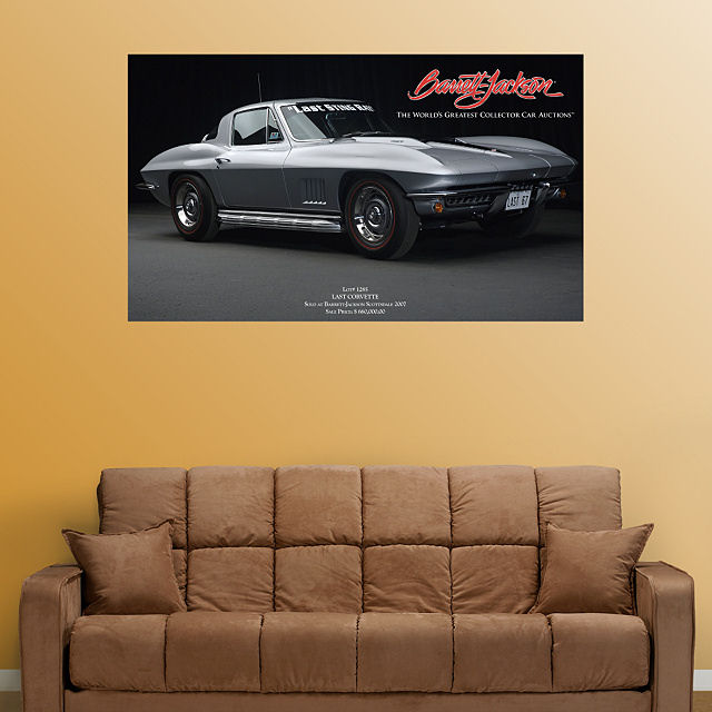 Fathead The Last Corvette Sting Ray  Wall Graphic - Wall Sticker Outlet