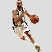 Fathead  Spurs Tony Parker Wall Graphic