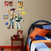 Toy Story Buzz Lightyear Woody Fathead  Junior
