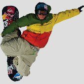 Fathead Travis Rice Snowboard Wall Graphic