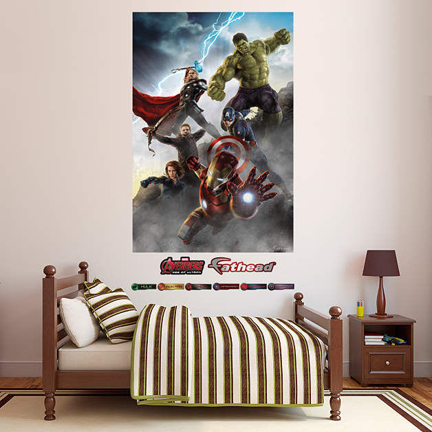 Fathead Avengers Age of Ultron Wall Mural - Wall Sticker Outlet