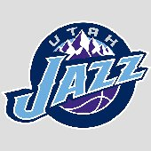 Fathead Utah Jazz  Logo Wall Graphic