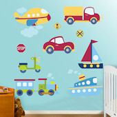 Fathead Vehicles Collection Wall Graphic