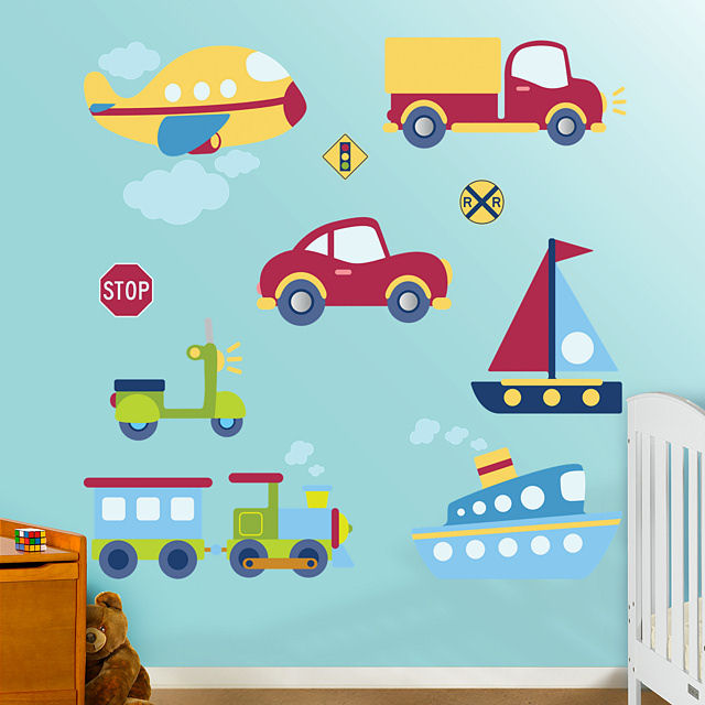 Fathead Vehicles Collection Wall Graphic - Wall Sticker Outlet