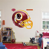 Fathead Washington Redskins  Helmet Real Big Mural