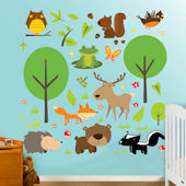 Fathead Wildlife Peel and Stick Wall Graphics