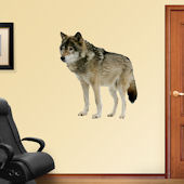 Fathead Wolf  Wall Graphic