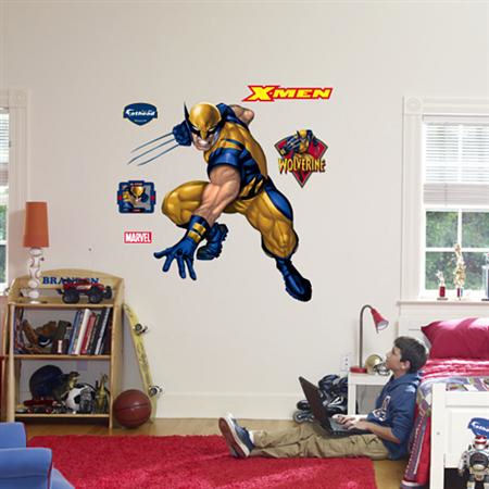 Fathead Wolverine Wall Graphic - Kids Wall Decor Store