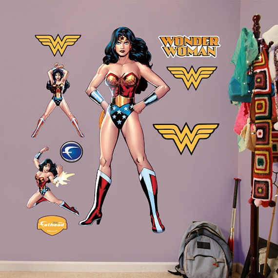 Wonder Woman Fathead Wall Sticker - Wall Sticker Outlet