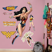 Fathead Wonder Woman in Action Decal