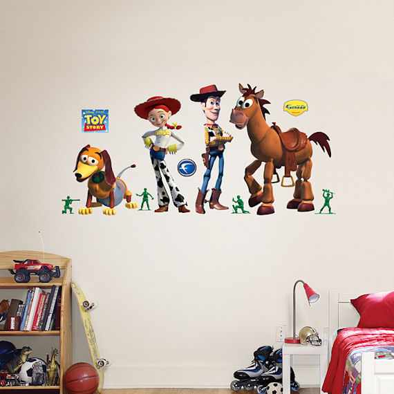 Toy Story Woody and Friends Fathead Wall Sticker - Wall Sticker Outlet