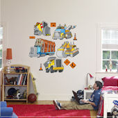 Fathead Work Trucks Peel and Stick Wall Sticker