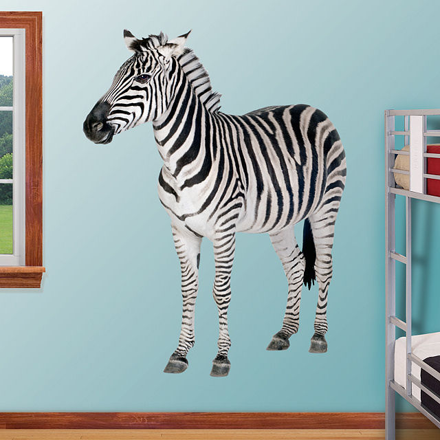 Fathead Zebra Wall Graphic