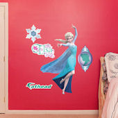 Fathead Frozen Snow Queen Elsa Jr Wall Decal