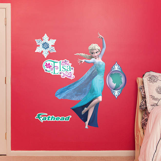 Fathead Frozen Snow Queen Elsa Jr Wall Decal - Wall Sticker Outlet