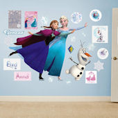 Fathead Frozen Ice Skating Collection Wall Decals