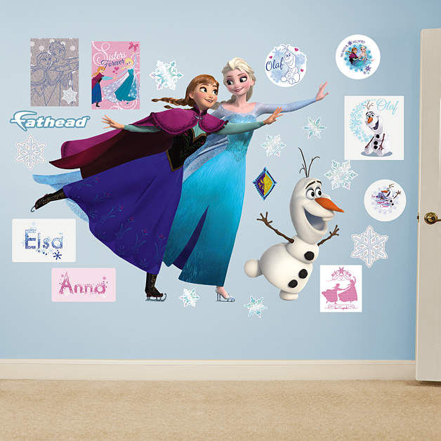 Fathead Frozen Ice Skating Collection Wall Decals - Wall Sticker Outlet