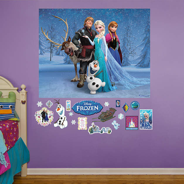 Fathead Frozen Wall Mural Decal - Wall Sticker Outlet