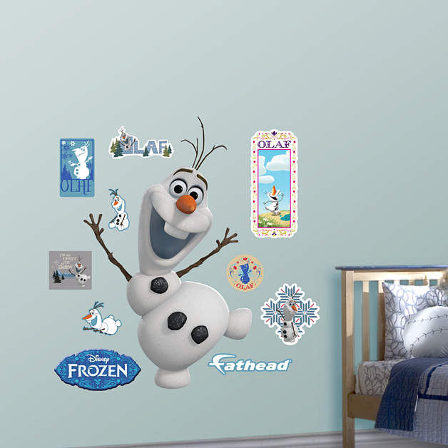 Fathead Frozen Olaf Giant Wall Decal - Wall Sticker Outlet