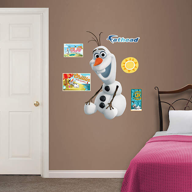Fathead Frozen Olaf Jr Wall Decal - Wall Sticker Outlet