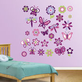 Fathead Garden Collection Peel Stick Wall Graphic