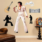 Fathead Elvis King Of  Rock And Roll Wall Graphic