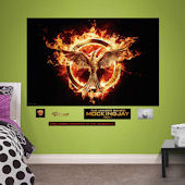 Fathead Hunger Games Mockingjay Part One Mural