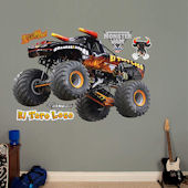 Fathead Monster Jam El Toro Loco Black Decal