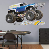 Fathead Monster Jam Grave Digger The Legend Decal