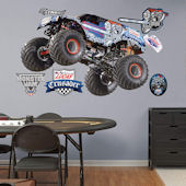 Fathead Monster Jam Lucas Oil Crusader Wall Decal