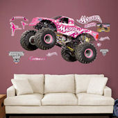 Fathead Monster Jam Madusa Wall Decal