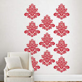 Fathead Martha Stewart Bold Damask Flourish Decal