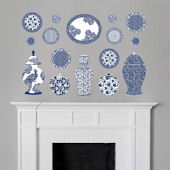 Fathead Martha Stewart Chinese Cermaic Wall Decal