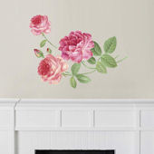 Fathead Martha Stewart Hand Painted Rose Decal