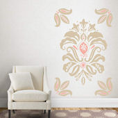 Fathead Martha Stewart Linen Damask Wall Decals