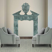 Fathead Martha Stewart Marble Fireplace Decal