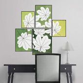 Fathead Martha Stewart Pressed Leaf Tiles Decals